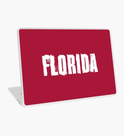 Florida Explosive Typography Laptop Skin