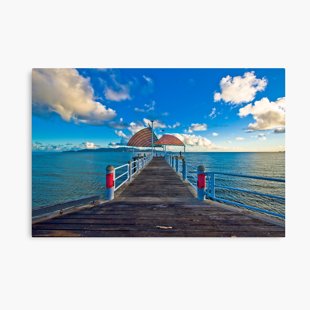 The Strand Jetty Townsville.  Canvas Print