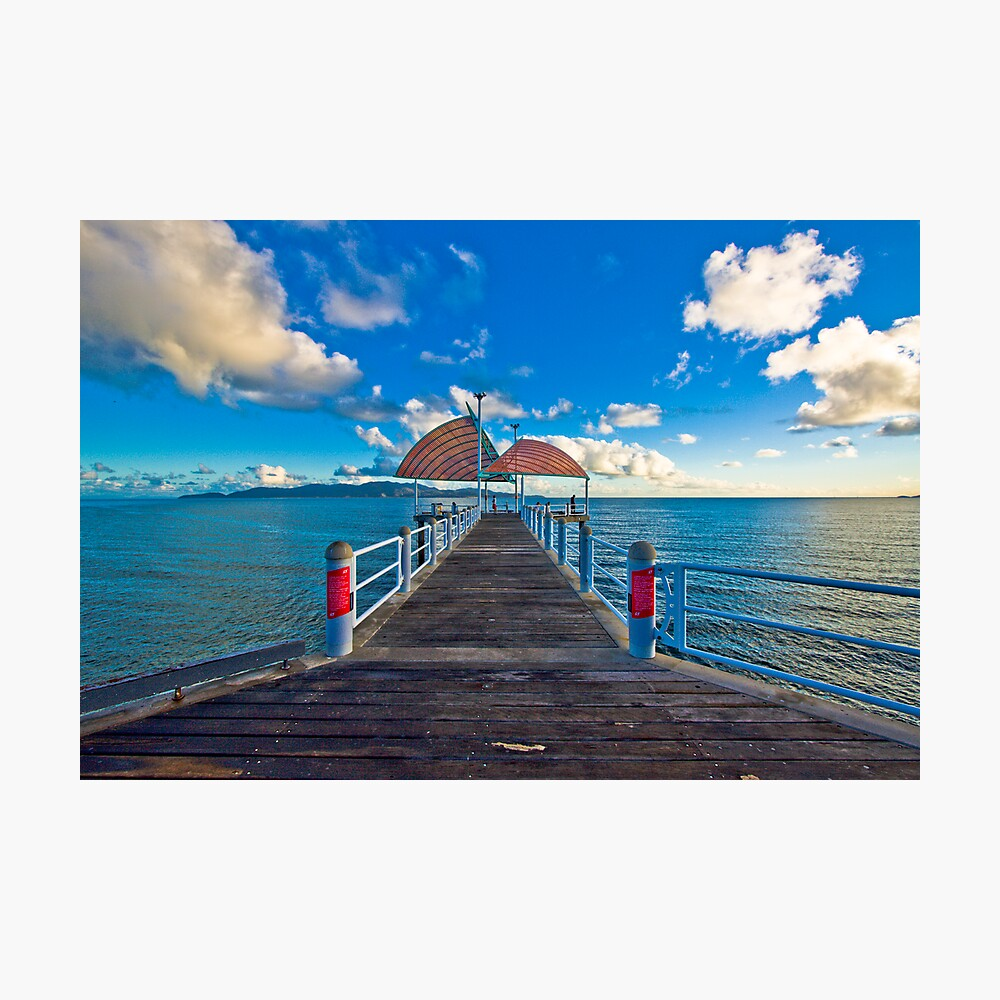 The Strand Jetty Townsville.  Photographic Print