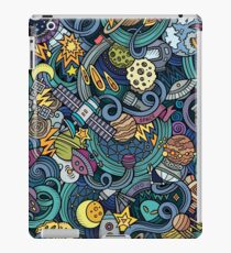 Space Squiggles iPad Case/Skin