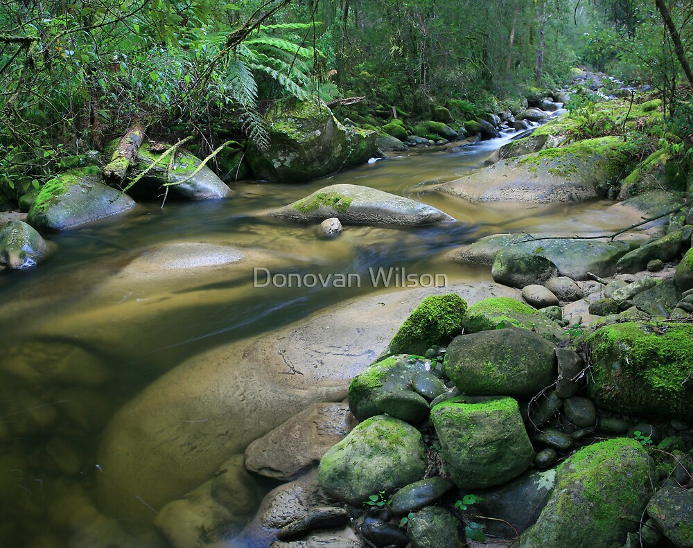 the Royston river.. by Donovan Wilson