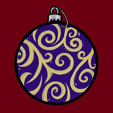 Wintery Ornament by jennieclayton