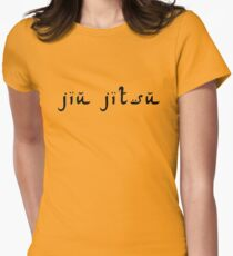 jiu jitsu Women's Fitted T-Shirt