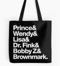 The Purple 80s Revolution Tote Bag