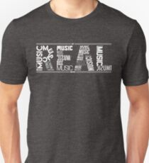 NF - REAL MUSIC Word Collaboration Unisex T-Shirt
