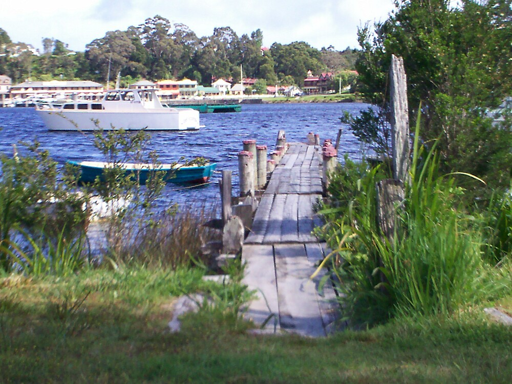 dock in Strahan by Wendy 00000