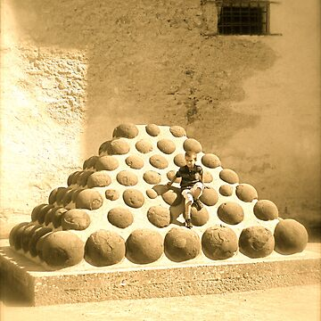 Boy on pyramid by postMODERN