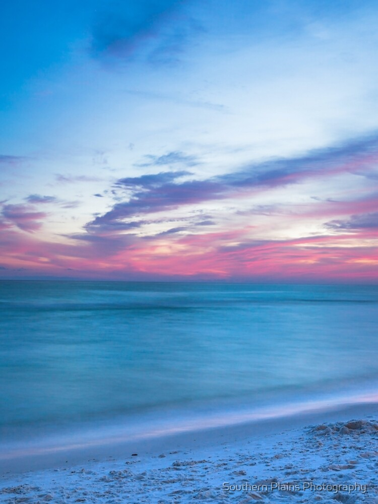 If By Sea - Sunset on the Beach Near Destin Florida by SeanRamsey