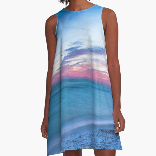 If By Sea - Sunset on the Beach Near Destin Florida A-Line Dress
