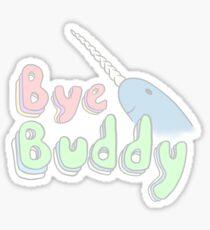 Bye Buddy Sticker