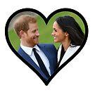 Prinz Harry und Megan Markle von LeilaCCG