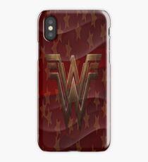 Golden Star Wonder Women iPhone Case/Skin