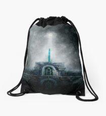 Timpanogos LDS Temple - Light in the Storm Drawstring Bag