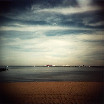 Port Melbourne Beach by miyukim26
