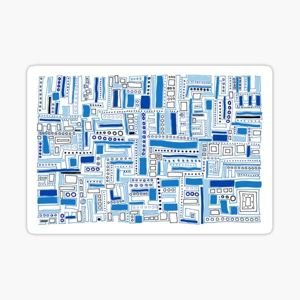 Winter Holi-maze Sticker