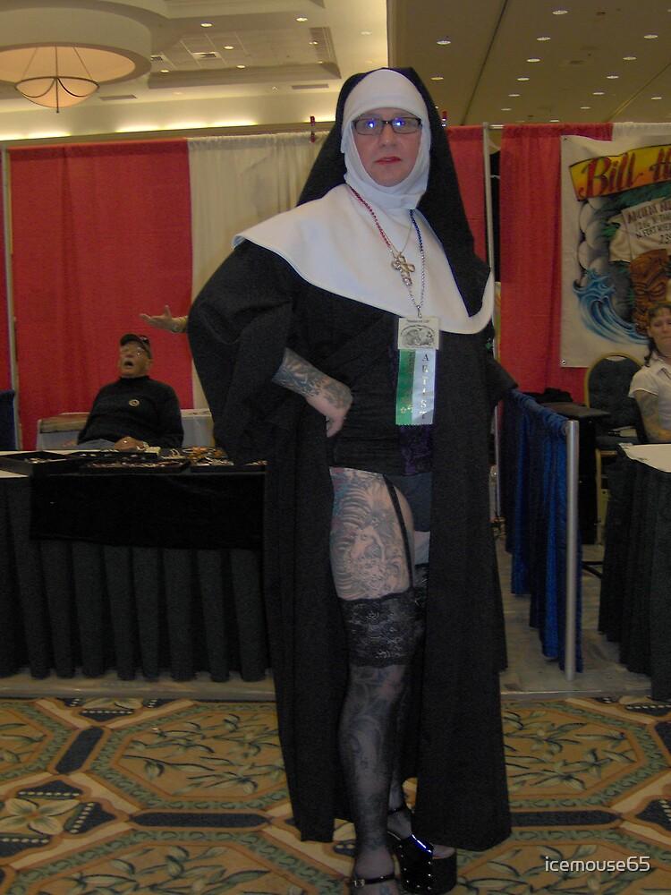 Tattooed Nun. by icemouse65