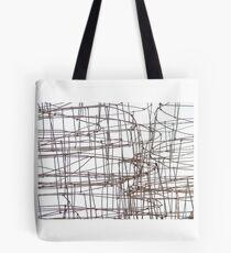 iron sketching Tote Bag