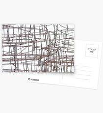 iron sketching Postcards