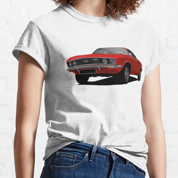 Opel Manta A in red Classic T-Shirt