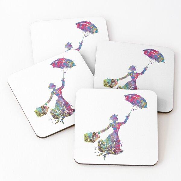 Mary Poppins Coasters (Set of 4)