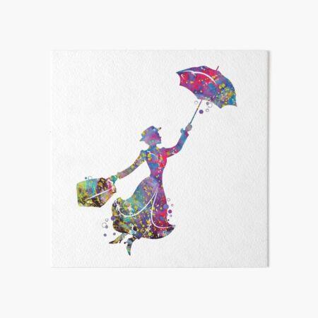 Mary Poppins Art Board Print