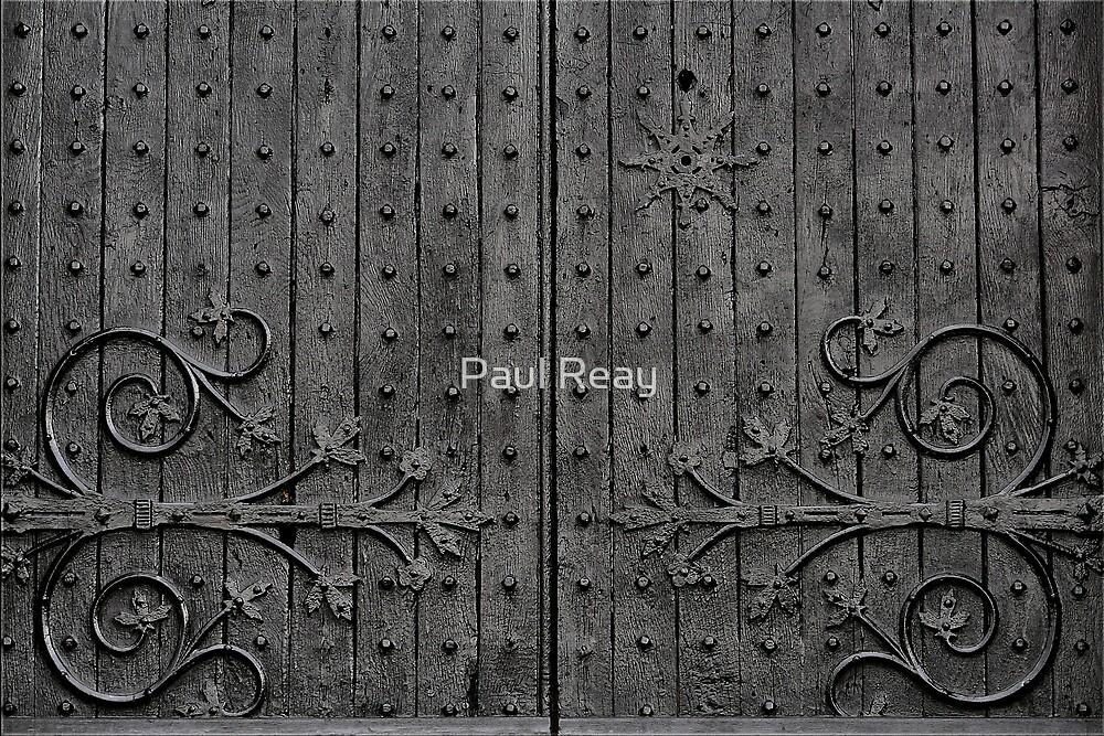 Church doors by Paul Reay