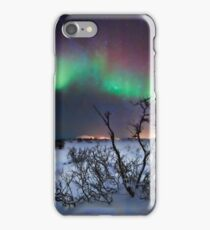 Northern Lights - creative editing iPhone Case/Skin