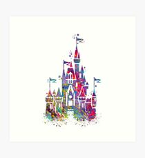 Princess Castle  Art Print