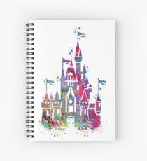Princess Castle  Spiral Notebook