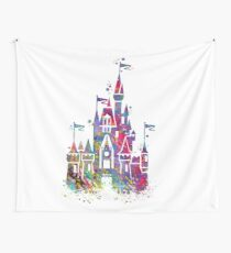 Princess Castle  Wall Tapestry
