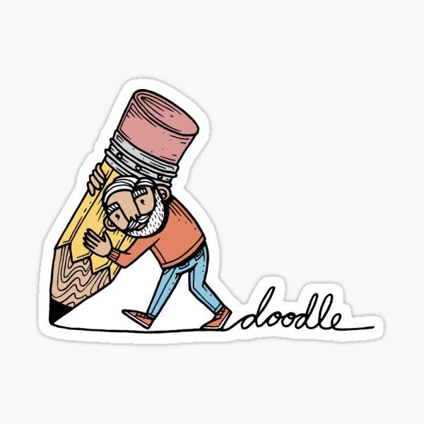 Doodler Sticker