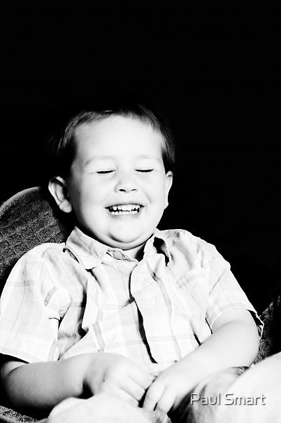 Laughing by Paul Smart