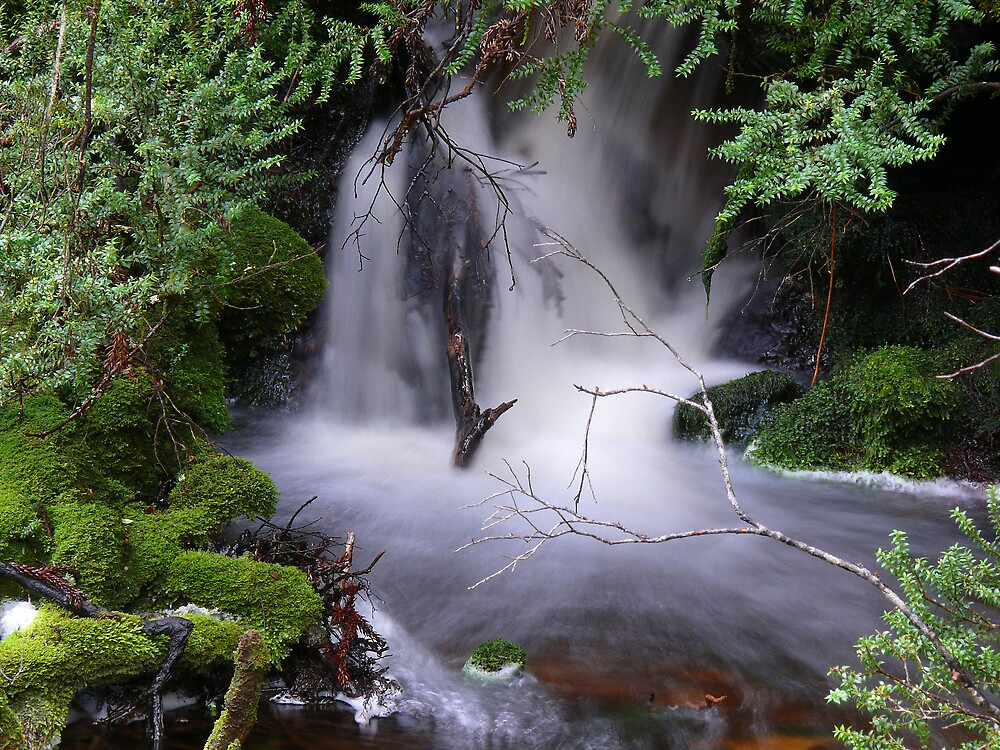 Whispy Waterfall by Keith G. Hawley