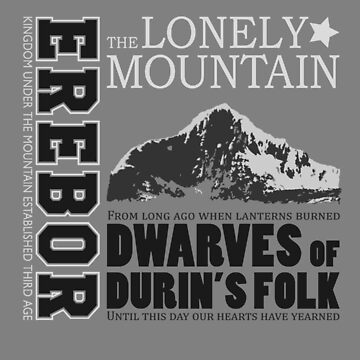 Erebor: The Lonely Mountain by DavidHedgehog