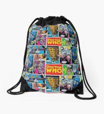 Doctor Who Comic Drawstring Bag