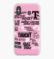 Quoted Print (Grease) iPhone Case