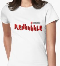 redbubble cubit condos lapse into logo  Women's Fitted T-Shirt
