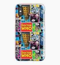 Doctor Who Comic iPhone Case/Skin