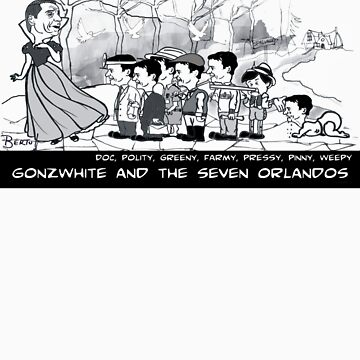 Gonzwhite and the Seven Orlandos by Bertu