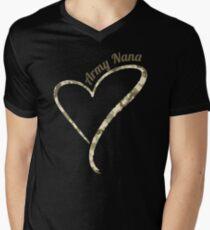 Proud Army Nana - Army Nana Camouflage Men's V-Neck T-Shirt