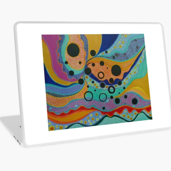 Delight in Movement Laptop Skin