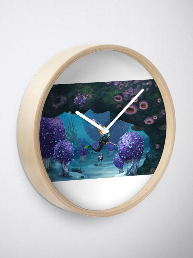 Vista alternativa de Reloj Subnautica