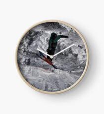 Mountain Air  - Skier Clock