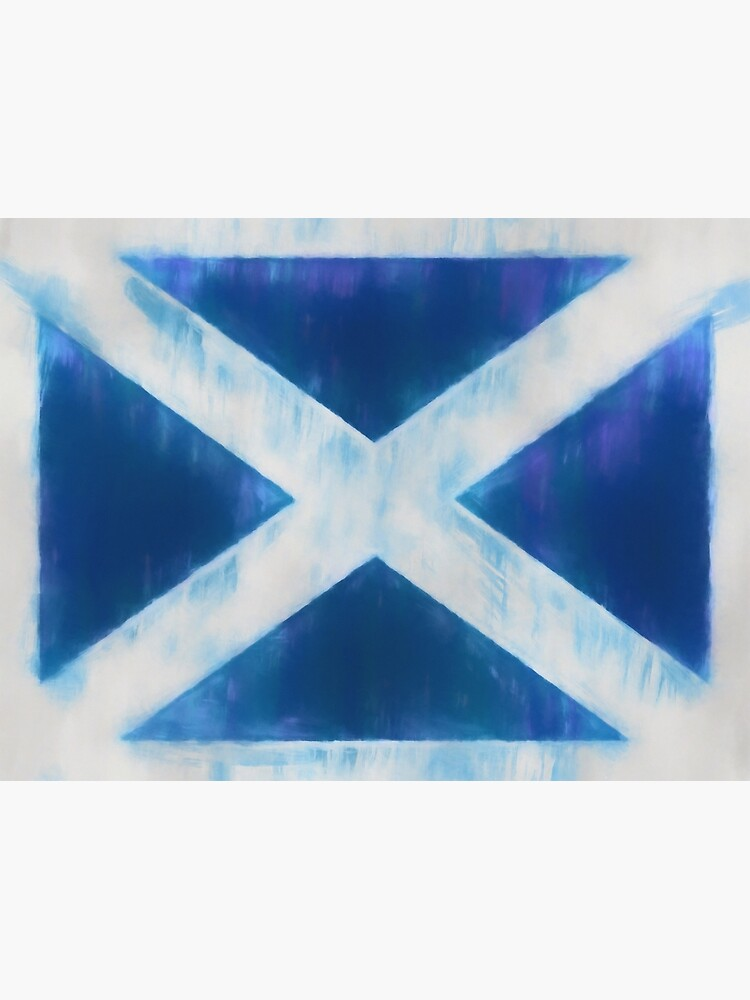 Scotland Flag Reworked No. 66, Series 1 by 8th-and-f