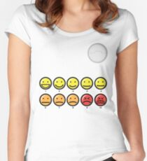 On a scale of 1-10 how would you rate your pain? Women's Fitted Scoop T-Shirt