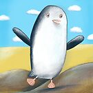 Summer Penguin  by Lisa Coutts