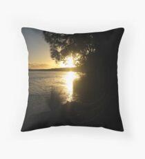 Sunset at Myall Lakes Throw Pillow