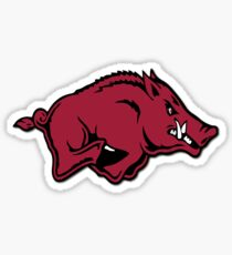 Arkansas Razorback Sticker