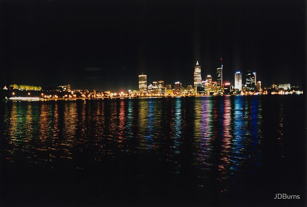 Perth by Night by JDBurns