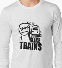 I Like Trains! Long Sleeve T-Shirt